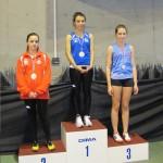 Diana JOSE, Championne départementale du 60m cadettes